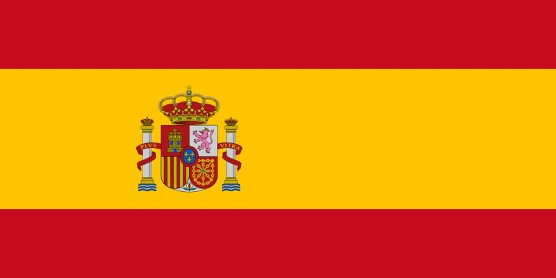 Сегашно време в Испански език (1 част), испански флаг