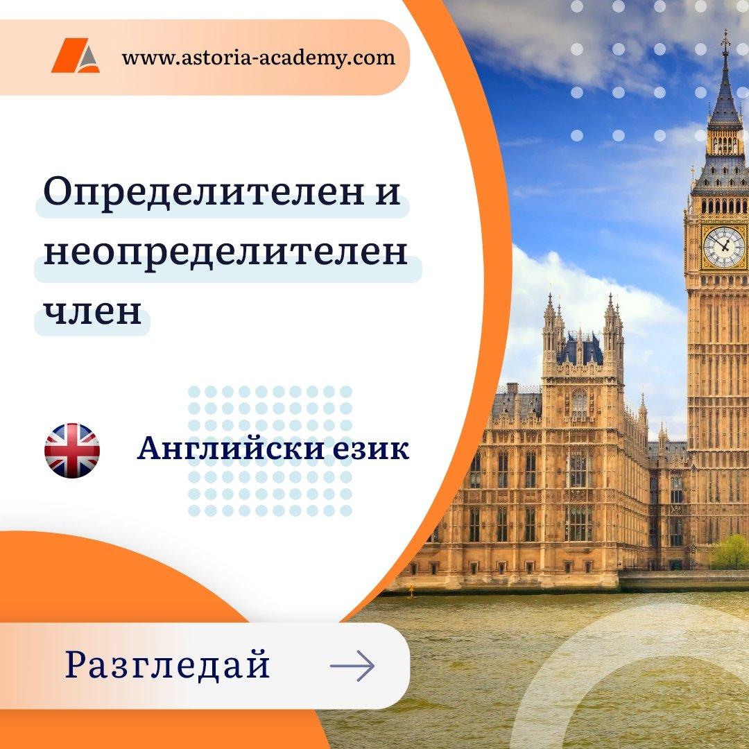 Определителен и неопределителен член в Английски език